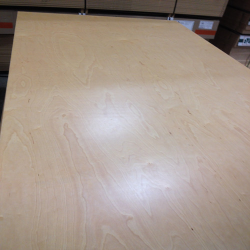 UV Pre-finished Natural Birch Plywood
